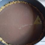 Torta fredda ciocco caffè