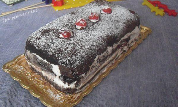 Mattonella mud cake con camy cream