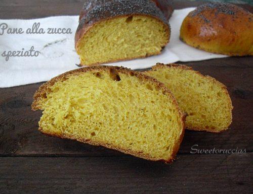 Pane alla zucca speziato ricetta siciliana