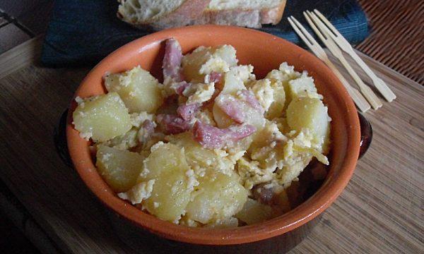 Patate alla carbonara al forno ricetta saporita