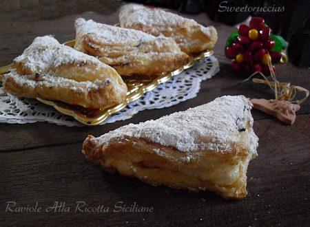 Raviole di ricotta siciliane al forno