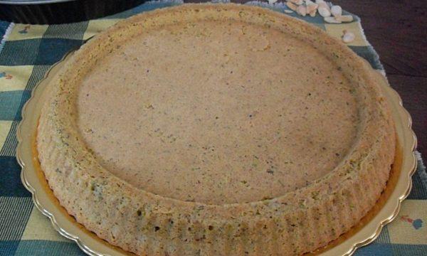 Crostata morbida di pistacchio e mandorle