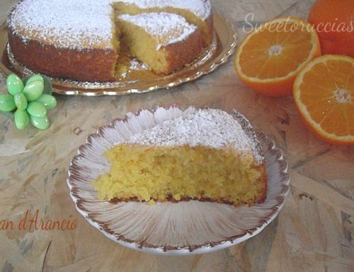 Pan d'arancio ricetta siciliana
