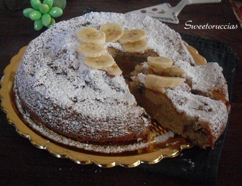 Torta di banane allo zenzero e noci