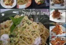 Spaghetti in tavola raccolta
