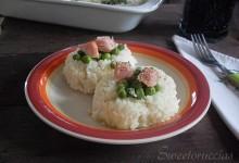 Nidi di riso al forno