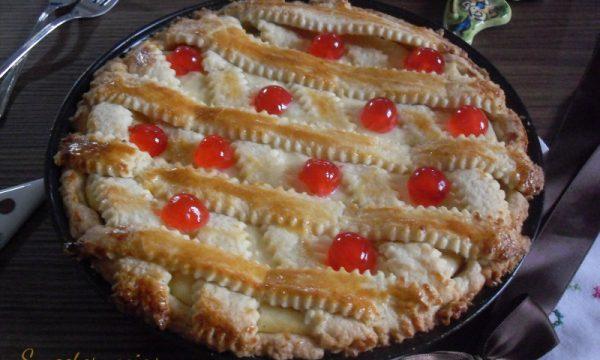 Crostata di ricotta ricetta siciliana