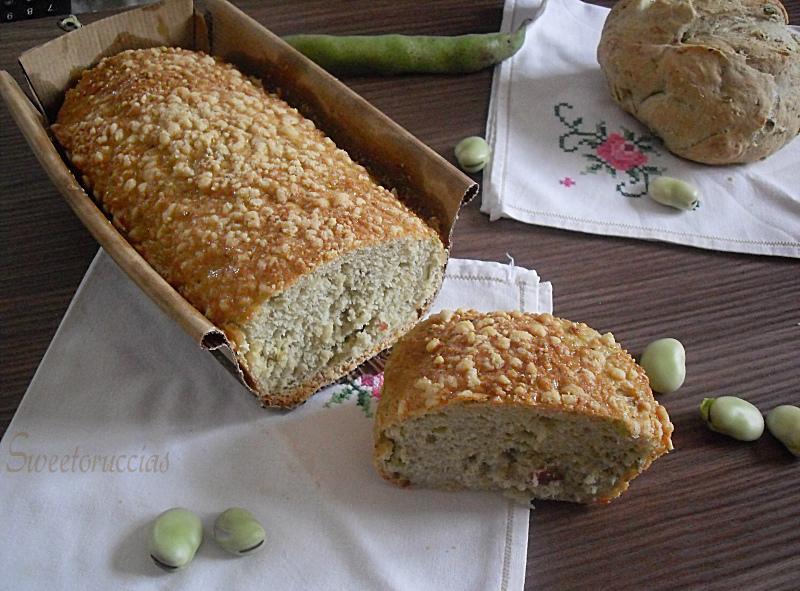 Pane alle fave fresche e speck sweetoruccias - Diversi tipi di pane ...