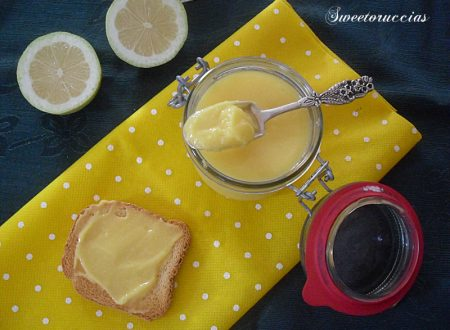 Lemon curd crema a base di limoni