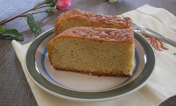 Sponge cake torta inglese