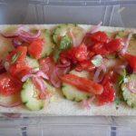 Terrina di panzanella piatto freddo