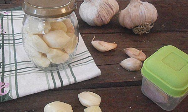 Come conservare l'aglio fresco