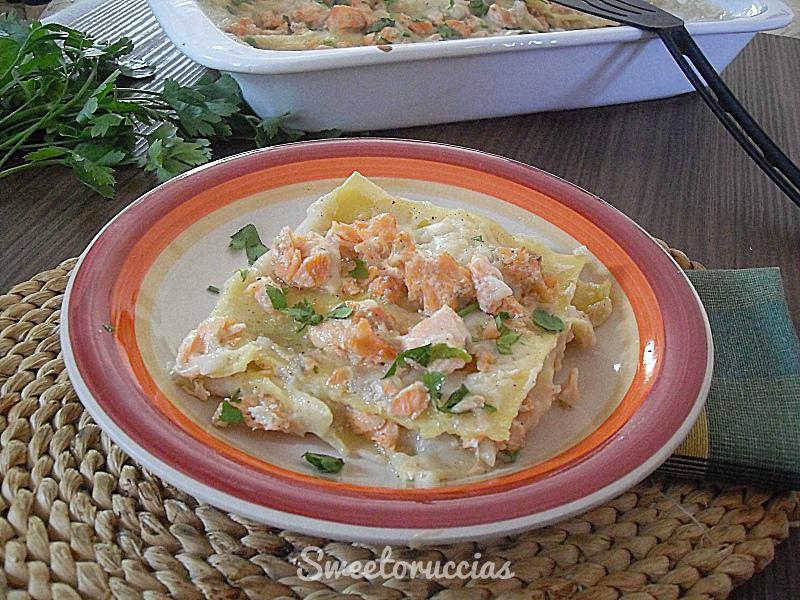 Lasagne al salmone fresco ricetta