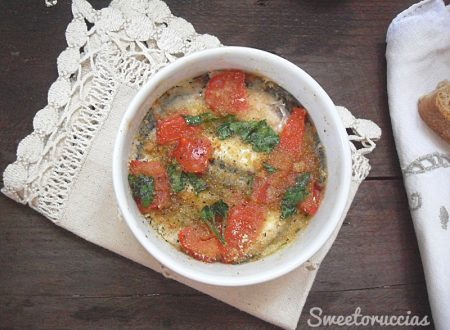 Tortino di alici ricetta mediterranea