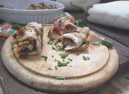 Involtini di melanzana bianca ricetta facile