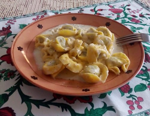 Tortelloni ai quattro formaggi