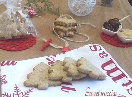 Biscotti di Natale con datteri e zenzero regalo home made
