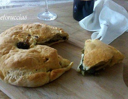 Scacciata con i broccoli ricetta catanese