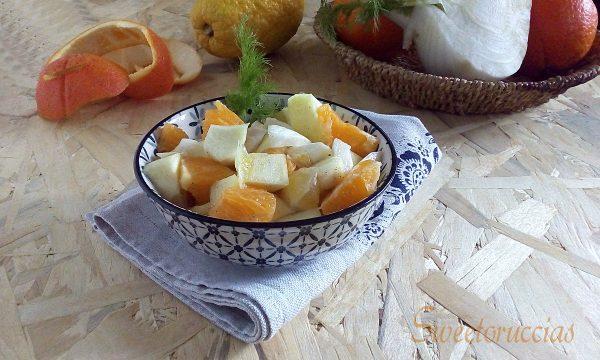 Insalata di finocchi arance e cedro ricetta semplice