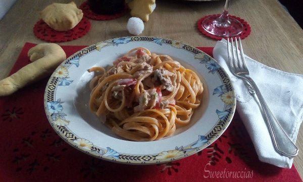 Pasta e salmone ricetta saporita senza panna