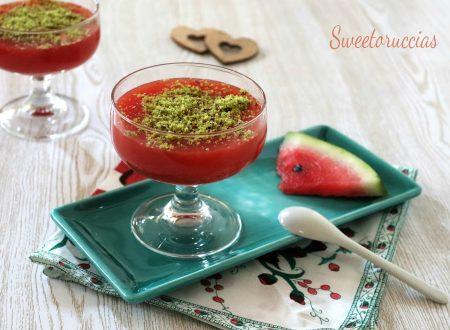 Gelo d'anguria ricetta siciliana