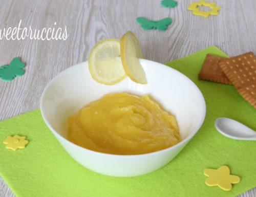 Crema al limone con procedimento bimby