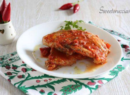 Pesce spada al pomodoro ricetta piccante