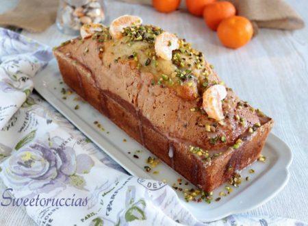 Plumcake con pistacchio al profumo di clementine