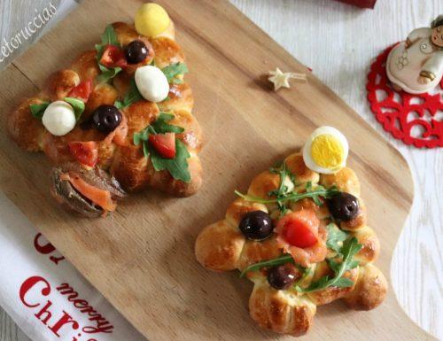 Albero di Natale ricetta salata facile