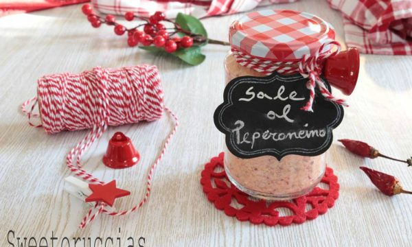 Sale aromatizzato al peperoncino calabrese