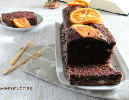 Ricetta plumcake cacao e marmellata d'arancia