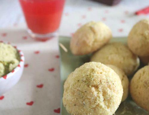 Biscotti golosi arancia rossa e pistacchio