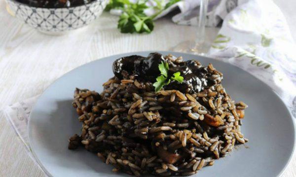 Risotto al nero di seppia ricetta siciliana