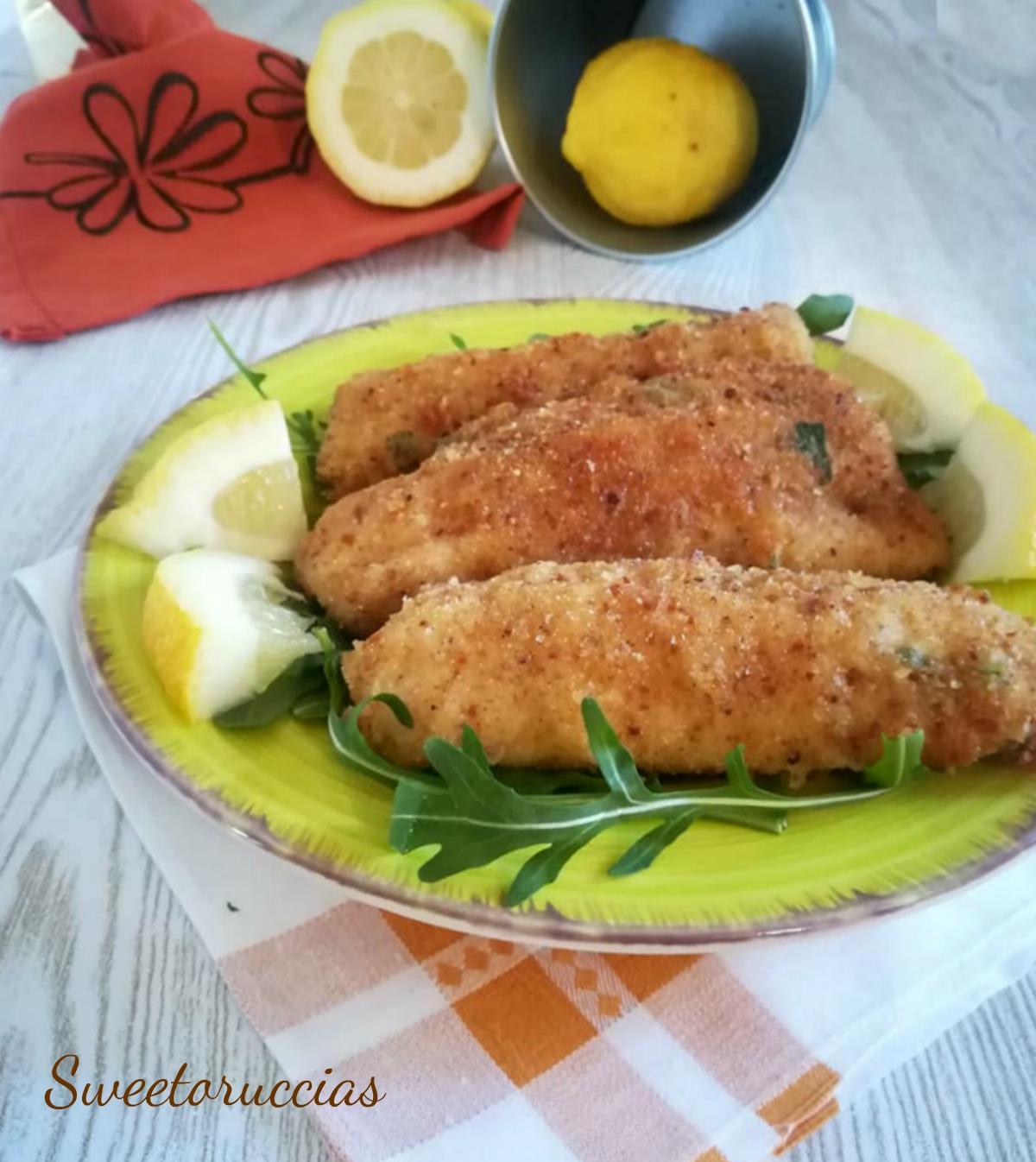 Cotolette di pesce spatola ricetta saporita