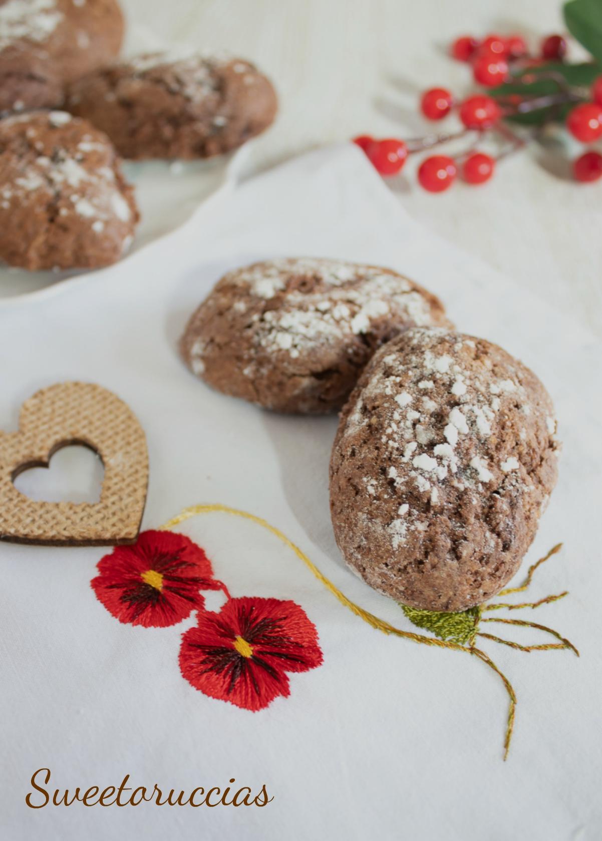 Biscotti rustici al cioccolato
