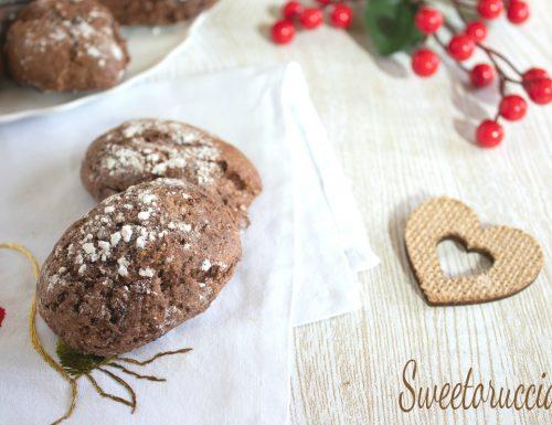 Biscotti rustici al cioccolato e arancia