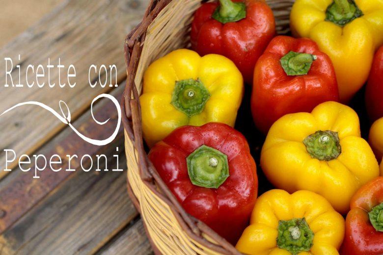 Raccolta di ricette con i peperoni