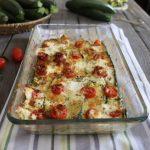 pasticcio di zucchine al forno