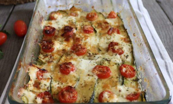 Pasticcio di zucchine al forno ricetta facile