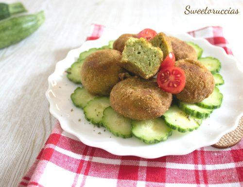 Polpette morbide zucchine e merluzzo