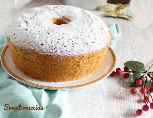 Ricetta chiffon cake torta americana