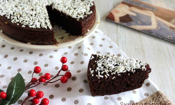Torta 7 vasetti al cacao e marmellata