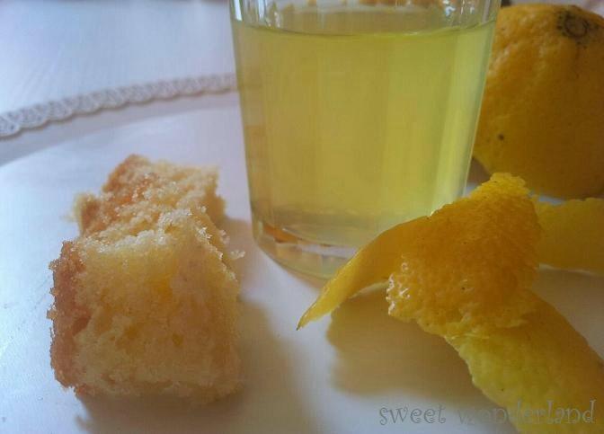 Sciroppo di Limoncello Bagna per Pan di Spagna | Sweet Wonderland