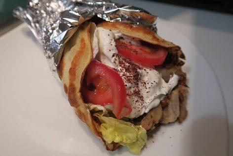 Kebab con piadina