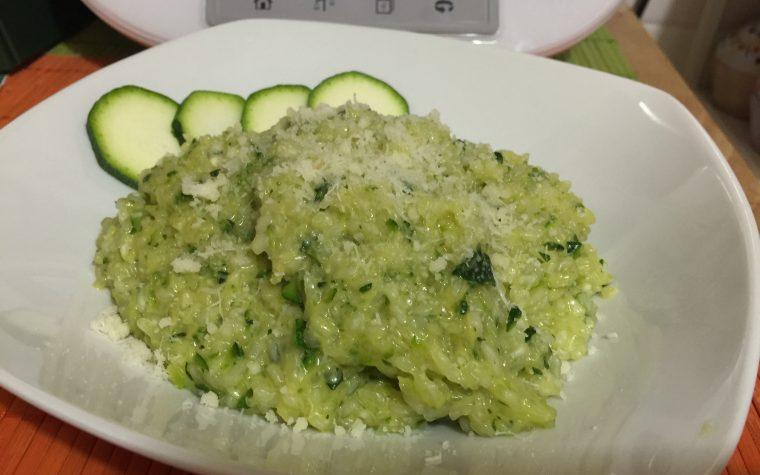 Risino con zucchine e curry con Bimby TM5