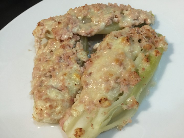 Indivia belga al forno - Ricetta Dukan