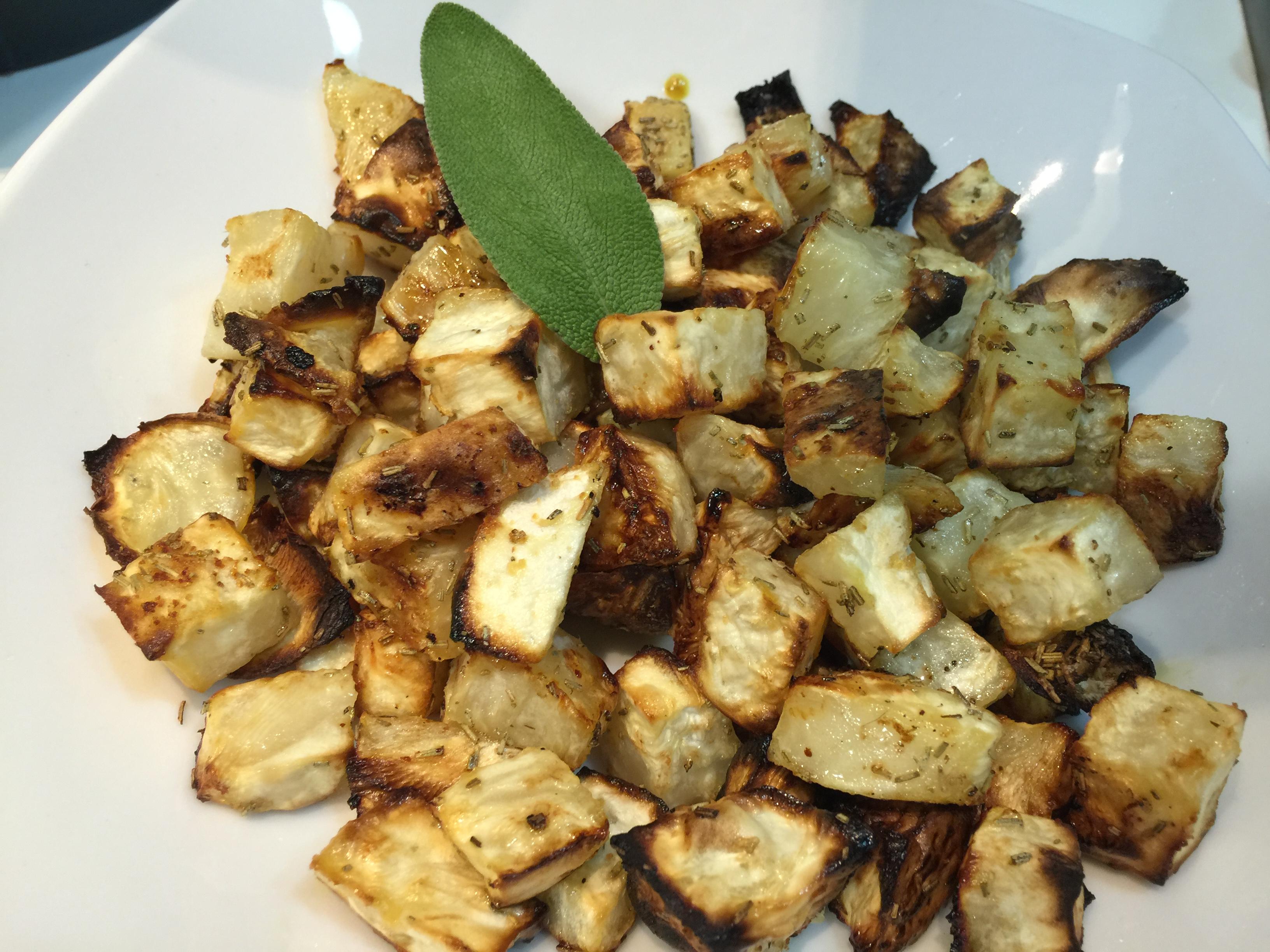 Sedano rapa al forno le ricette di tabata - Cucinare patate americane ...