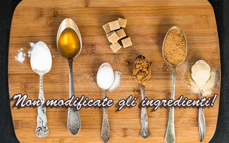 Perchè non sostituire gli ingredienti nelle ricette Dukan?