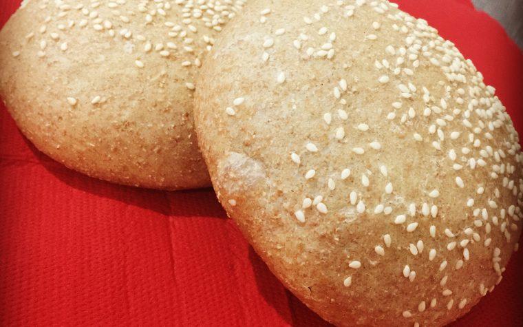 Burger Buns 100% integrali con Bimby TM5