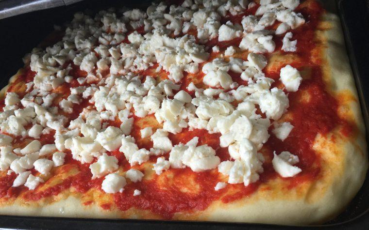 Pizza in teglia con Bimby TM5